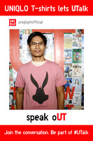 May 10, UNIQLO (Mega Mall) T-Shirts lets UTalk speak oUT Day 4