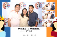 July 25, Mikee And Minnie At 36