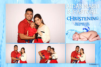 Aidan Nash Christening