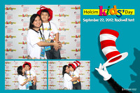 Holcim Kids Day booth 1