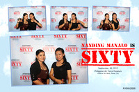 Nanding Manalo is SIXTY Day 1