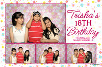 March 02, Trisha's 18th Birthday