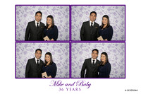 March 16, Mike and Baby's Wedding Anniversary