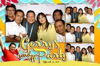March 21, Gerry's Send Off Party