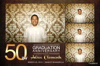 March 23, 50th Graduation Anniversary of Alice Clemente