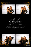 March 22, Claudine @ 18