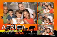 March 31, Intercontinental Manila - AFRICA an Eggciting SAFARI