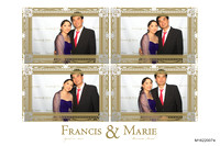 April 21, Francis and Marie's Wedding