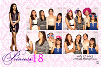 July 27, Princess @ 18
