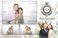 Aug. 23, Francis and Kaori's Wedding