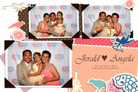 Jan. 10, Jerald and Angela's Wedding
