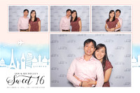 Dec. 16, Ian and Richelle's Sweet 16