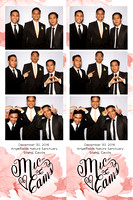 Dec. 30, Mic and Cams Wedding