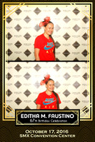 Oct. 17, Editha M. Faustino 67th Birthday Booth 5