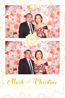 Oct. 15, Mark and Christine's Wedding