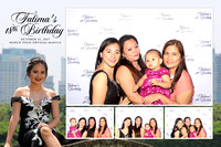 Oct. 15, Fatima's 18th Birthday