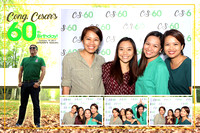 Oct. 19, Congresmann Cesar Sarmiento's 60th Birthday