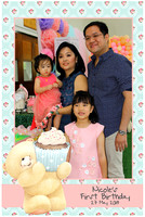 May 27, Nicole's 1st Birthday