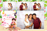 Dec. 03, Aliana's 1st Bday