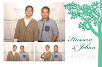 Oct. 20, Hussain and Jehan's Wedding
