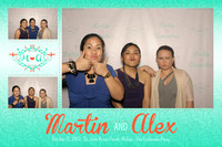 Oct. 12, Martin and Alex Wedding