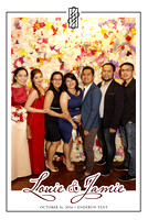 Oct. 16, Louie and Jamie Wedding