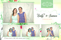 Aug. 16, Saimon And Emily Wedding