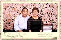 June 04, Corazon D. Ong 70th Birthday