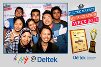 Sept. 08, Deltek Makati Apreciation Week 2014 6th Flr Booth 1