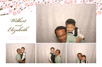 Sept. 21, Wilbert and Elizabeth's Wedding