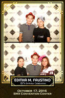 Oct. 17, Editha M. Faustino 67th Birthday Booth 3