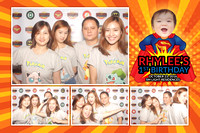Oct. 23, Rhylee's 1st Birthday Party