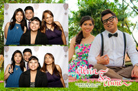 Feb. 22, Alvin and Anne's wedding