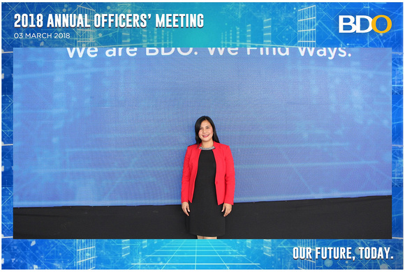 Baicapture Gallery | March 03, BDO Annual Officers' Meeting