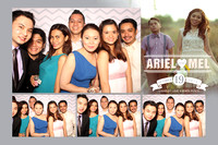 Oct. 19, Ariel and Mel's Wedding