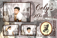 Jan. 30, Nanay Cely's 90th Birthday