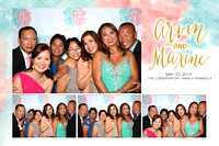 May 20,  Arvin and Maxine's Wedding